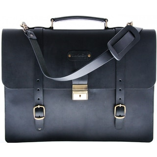 Leatherbay Palermo Saddle Leather Briefcase