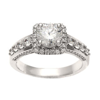 14k White Gold 1 3/4ct TDW Certified Round Diamond Ring (H-I, I1)