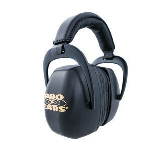 Pro Ears NRR 30 Ultra Pro Black Hearing Protection Shooting Range Ear Muffs