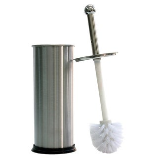 Stainless Steel Toilet Brush and Holder Set