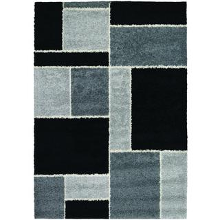 Moonwalk Stonewall Black Rug (7'10 x 10'10)