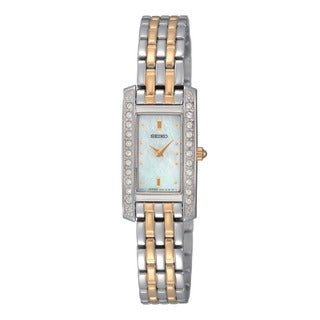 Seiko Women's 2-tone Diamond Watch