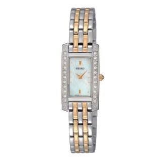 Seiko Women's 2-tone Diamond Watch