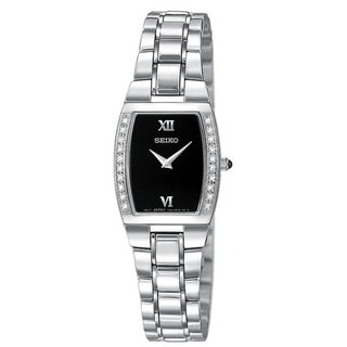 Seiko Women's Diamond Silvertone Watch