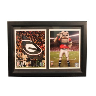 University of Georgia 18 x 12 Double Frame