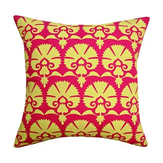 Yellow Khari Toss Throw Pillow (India)