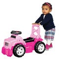 Mega Bloks Pink Jeep Ride-On