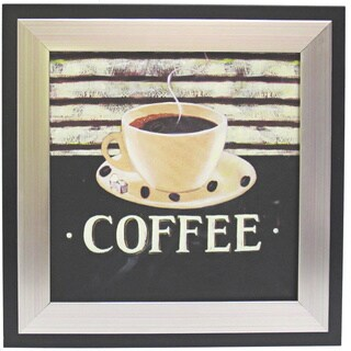 Kitchen Coffee Cup Art Framed