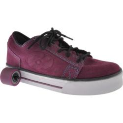 Girls' Heelys Plush Purple/Turquoise/Black/White