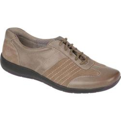 Women's Naturalizer Barnett Dover Taupe Mirage Leather/Oil Velour Suede