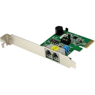 StarTech.com Internal PCI Express V.92 56K Data Fax Modem - PCIe Dial