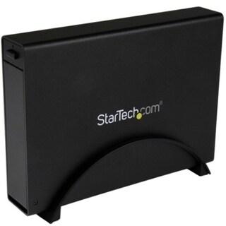 """StarTech.com USB 3.0 Trayless External 3.5"""" SATA III HDD Enclosure w/"""