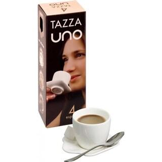Konitz Tazza Uno White Espresso Cups (Set of 4)