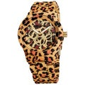 Vernier Women's Allover Leopard Bracelet Watch