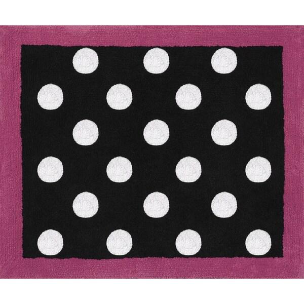 Sweet JoJo Designs Hot Dot Modern Accent Floor Rug