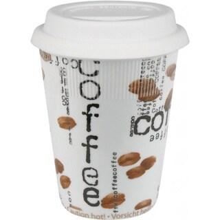 Konitz Collage Coffee Travel Mugs (Set of 2)