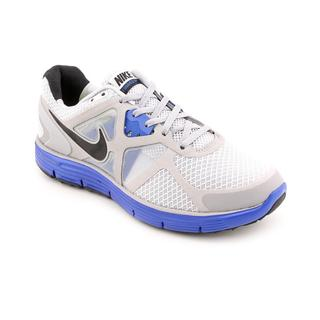 Nike Men's 'Lunarglide+ 3' Mesh Athletic Shoe