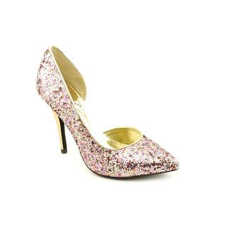 Carlos Santana Women's 'Glamour' Pink Synthetic Dress Shoes