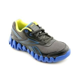 Reebok Boy (Youth) 'ZigActivate' Synthetic Gray-and-Blue Athletic Shoe