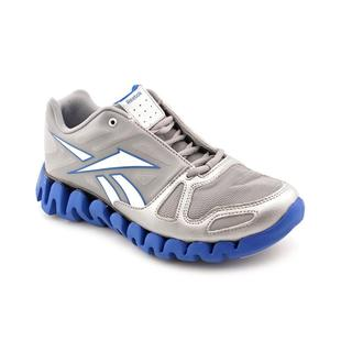 Reebok Boy (Youth) 'Zig Dynamic' Synthetic Silver Athletic Shoe