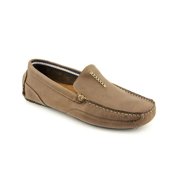 Clarks Men's 'Circuit Hunt' Brown Leather Casual Shoes
