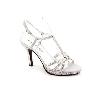 Rampage Women's Silver 'Krane' Fabric Sandals