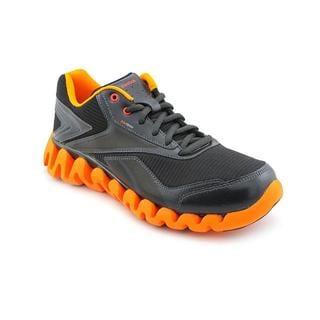 Reebok Boy (Youth) 'ZigActivate' Black Synthetic Athletic Shoe