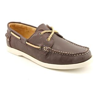 White Mountain Women's 'Headsail' Brown Leather Casual Shoes