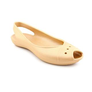 Crocs Women's 'Lady' Goldtone Man-Made Casual Shoes (Size 4 )
