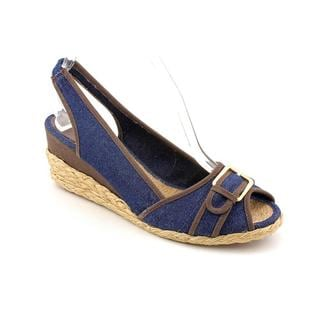 Lauren Ralph Lauren Women's 'Cameron' Denim Sandals (Size 11 )