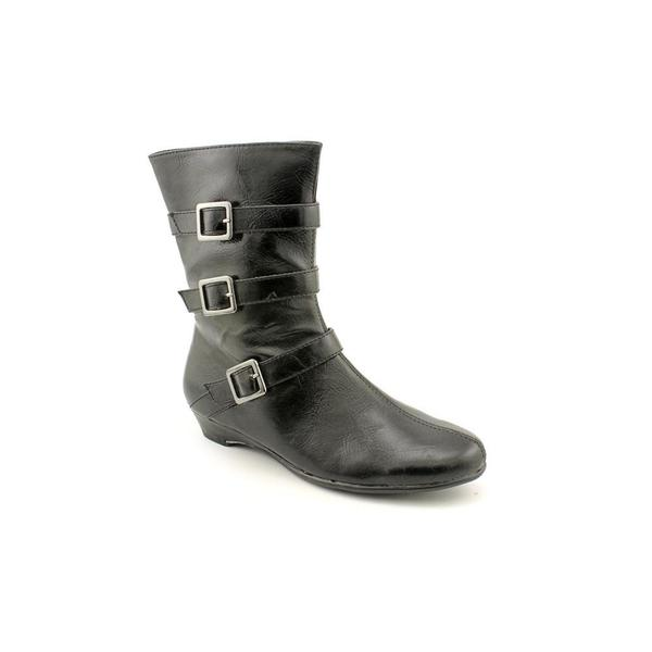 Aerosoles Women's 'Sot N Pepper' Black Mid-calf Boots