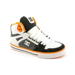 DC Men's 'Spartan HI WC' Leather Casual Shoes
