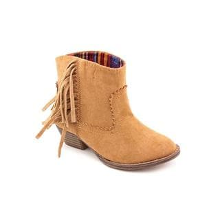 Mia Kids Girl (Youth) 'Blake' Fabric Tan Boots