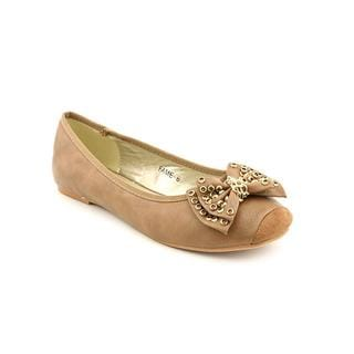 Lollipop Women's 'Fame' Synthetic Brown Casual Flats