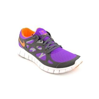 Nike Men's 'Free Run+ 2' Purple Mesh Athletic Shoe
