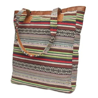 Thamel Leather Tote Bag (Nepal)