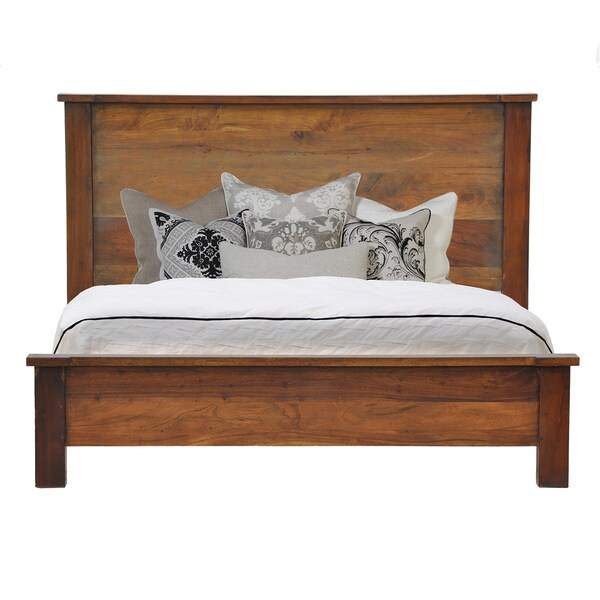 Kosas Home Hamshire Acacia Wood Bed