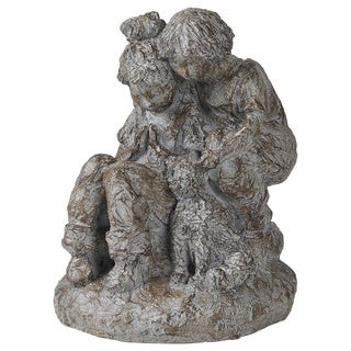 Family Pet Resin Statue