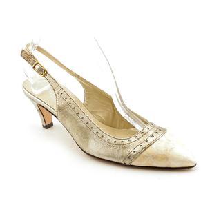 Renzo Fontanelli Women's 'Norton' Leather Dress Shoes - Extra Narrow (Size 6 )