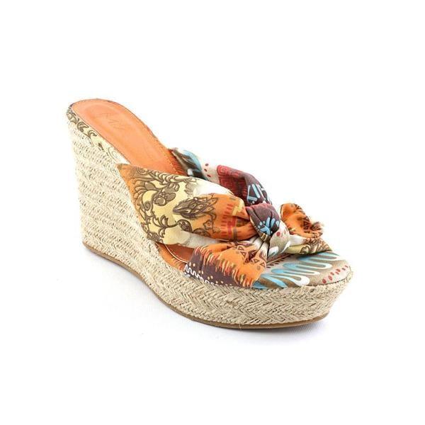 Mia Girl Women's 'Rita' Fabric Platform Dress Shoes (Size 9.5 )