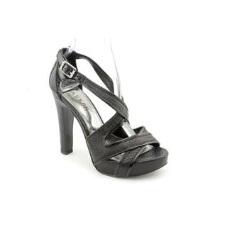 Lauren Ralph Lauren Women's '802139924' Leather Sandals (Size 6 )