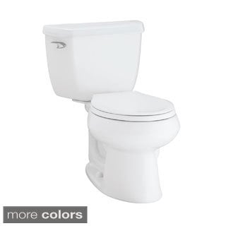 Kohler K-3577 Wellworth Classic 2-piece Round Front 1.28 GPF Toilet