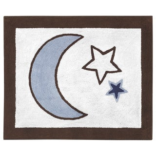 Sweet Jojo Designs Starry Night Accent Floor Rug