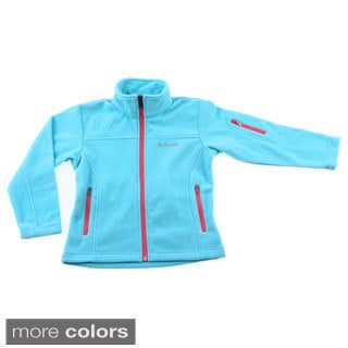 Columbia Girls Fast Trek Full Zip Fleece Jacket