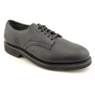 Work America Men's 'Oxford' Leather Casual Shoes - Narrow (Size 8 )