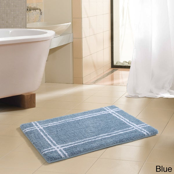 VCNY Traverse Hotel Microfiber Memory Foam 20 x 30 Bath Mat