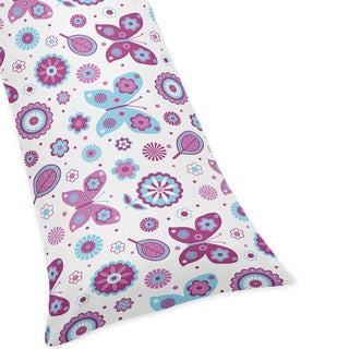 Spring Garden Full Length Double Zippered Body Pillow Case Cover by Sweet Jojo Designs