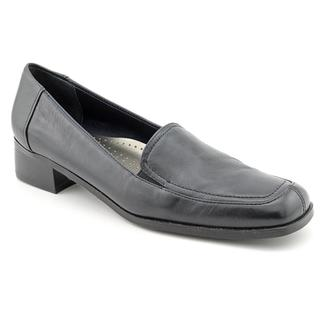 Trotters Women's 'Allison' Blue Leather Casual Shoes - Narrow