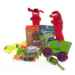 Dog Treats 'n Toys Gift Set for Medium/Large Breeds