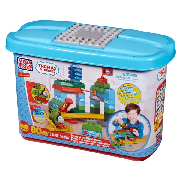 Mega Bloks Thomas and Friends Percy at the Wash Down 11990854